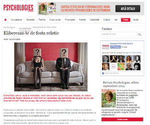 Aparitie media Revista Psychologies