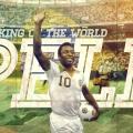 Brazilia 2014 Fotbal Pelé