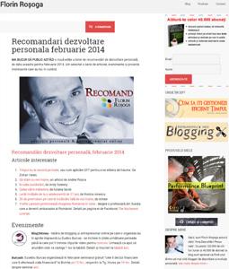 Aparitie media Florin Rosoga