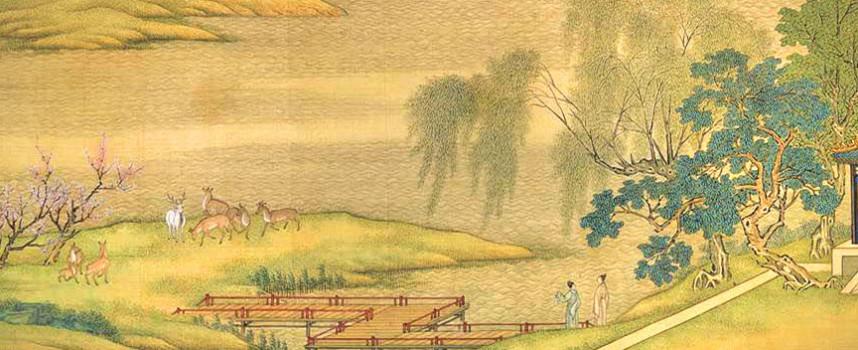 Fu Xi trimis de Zei pentru a impartasi cultura direct chinezilor